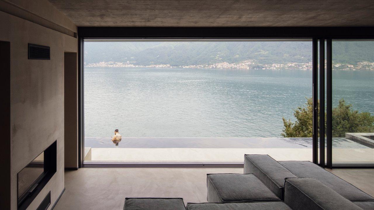 Las mejores vistas sobre el lago de Como están en esta casa
